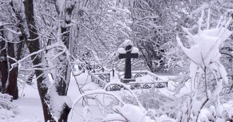 Подготовка памятника к зиме, все этапы