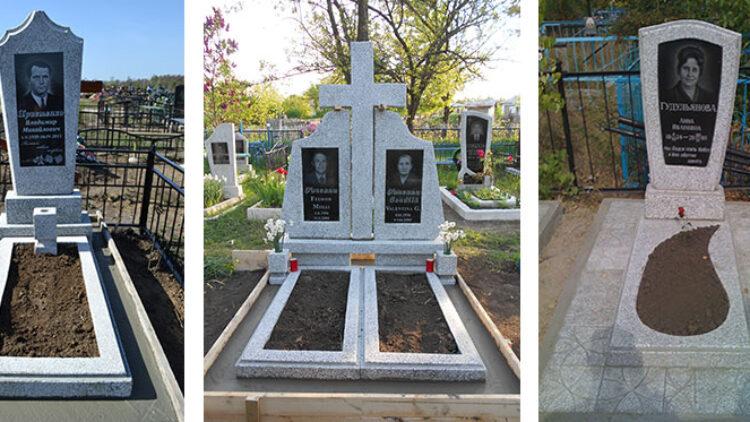 Памятники из гранитной и мраморной крошки. Вам нужен недорогой памятник